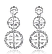 Load image into Gallery viewer, diamante earrings for women