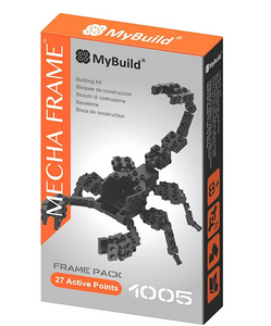 MyBuild Mecha Frame Toy Bricks Cool Model Complete Set Building Kit (Base Kit 1005)