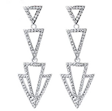 Load image into Gallery viewer, diamante earrings