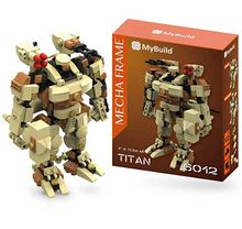 Load image into Gallery viewer, MyBuild Mecha Frame Titan 6012 Sci-Fi 6 Inch Mecha Kit Construction Blocks Building Bricks Set