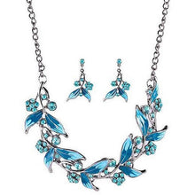 Load image into Gallery viewer, Beautiful Womens Costume Jewellery Necklace and Earrings Set