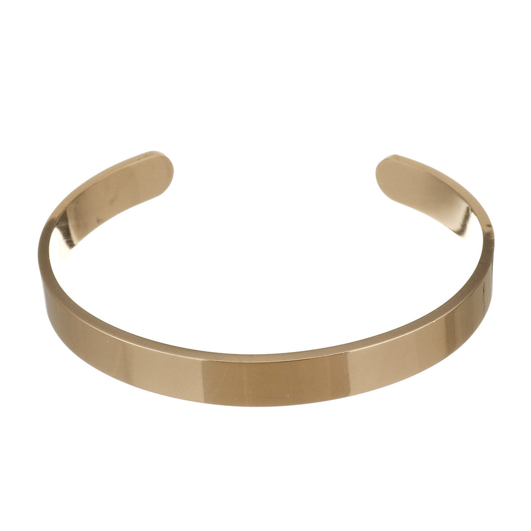 rose gold bangle for men