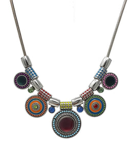 Beautiful Womens Costume Jewellery Necklace - Multicoured