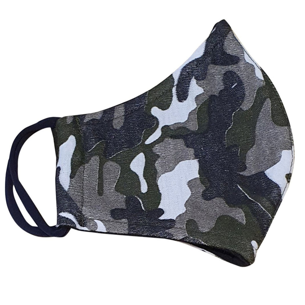 Camouflage face mask for men boy