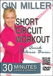 Gin MIller Short Circuit Workout For Quick Calorie Burn DVD