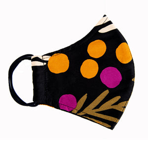 pattern face mask for women