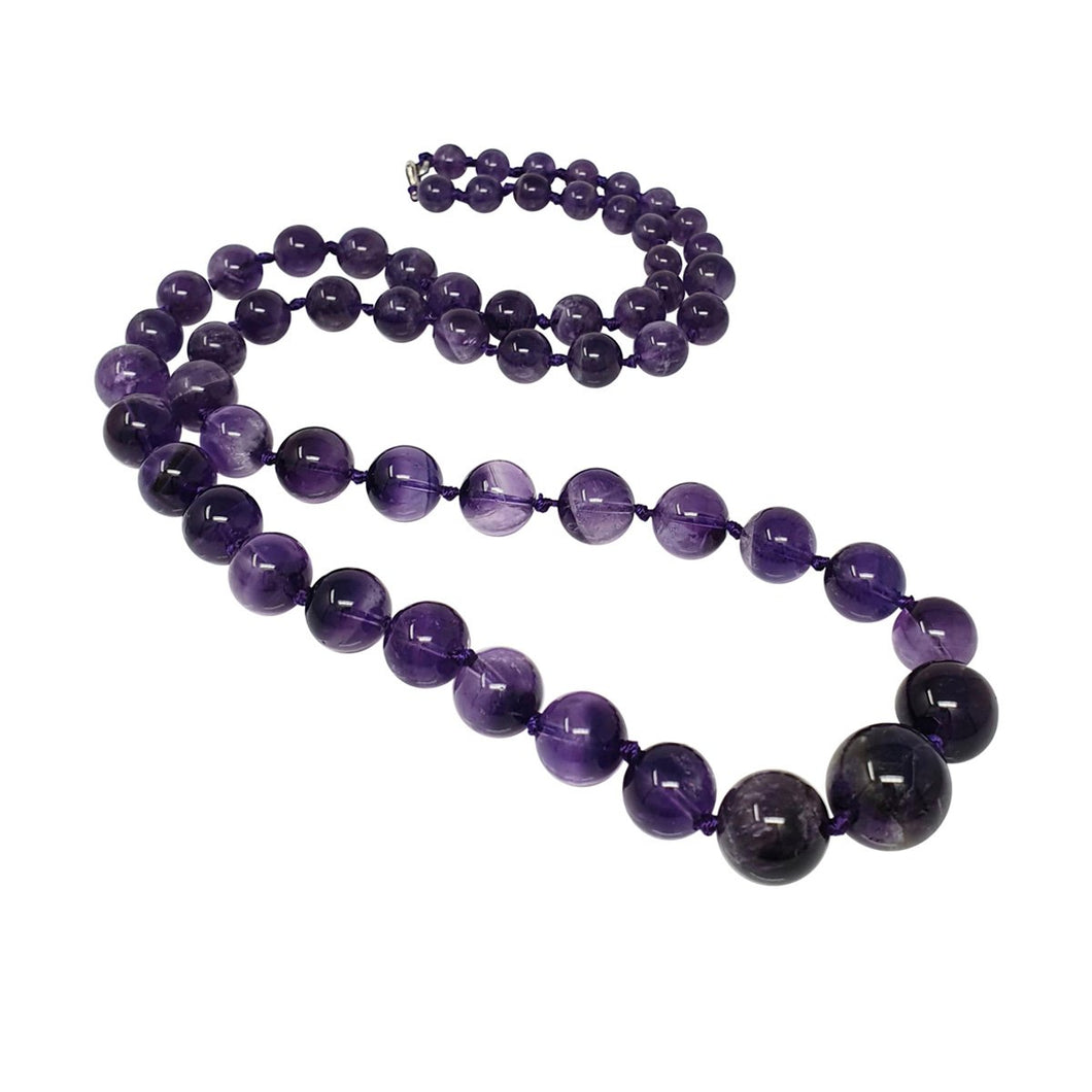 amethyst gemstone necklace for women