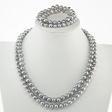 Load image into Gallery viewer, women pearl jewellery set