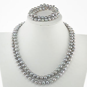 women pearl jewellery set