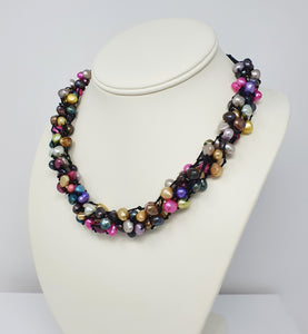 statement pearl necklace for women