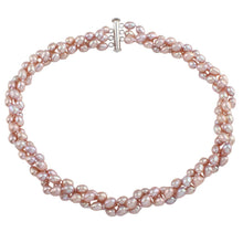 Load image into Gallery viewer, Multi-Strand Natural Freshwater Pearl Necklace for Women