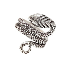 Load image into Gallery viewer, silver Snake ring for women