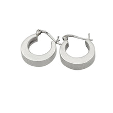 Load image into Gallery viewer, Women's huggie hoop earrings