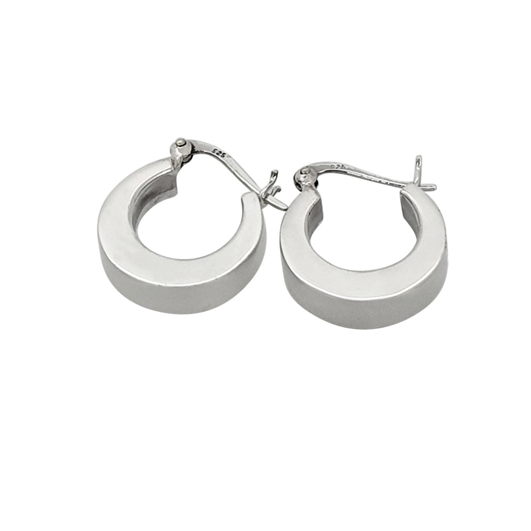 Women's huggie hoop earrings