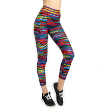 Load image into Gallery viewer, Multi Coloured Yoga Sport Legging