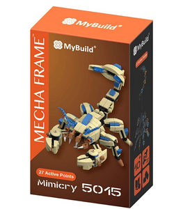 MyBuild Mecha Frame Toy Bricks Cool Model Complete Set Building Kit Mimicry 5015