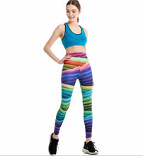 Load image into Gallery viewer, RainBow Yoga Sport Legging