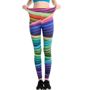 multi colours leggings