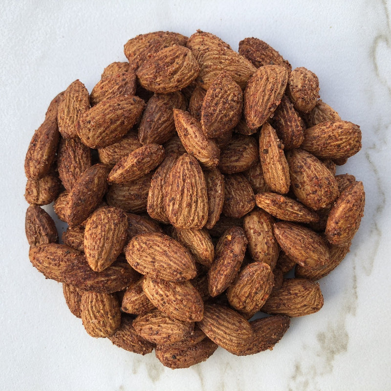 Roasted Smoked Almonds