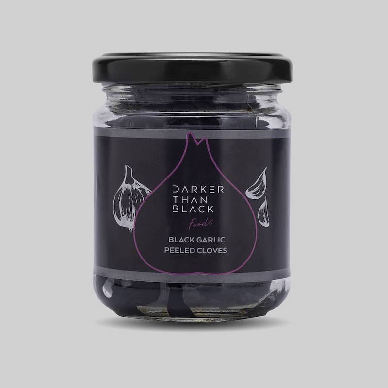Peeled Black Garlic Cloves 150g
