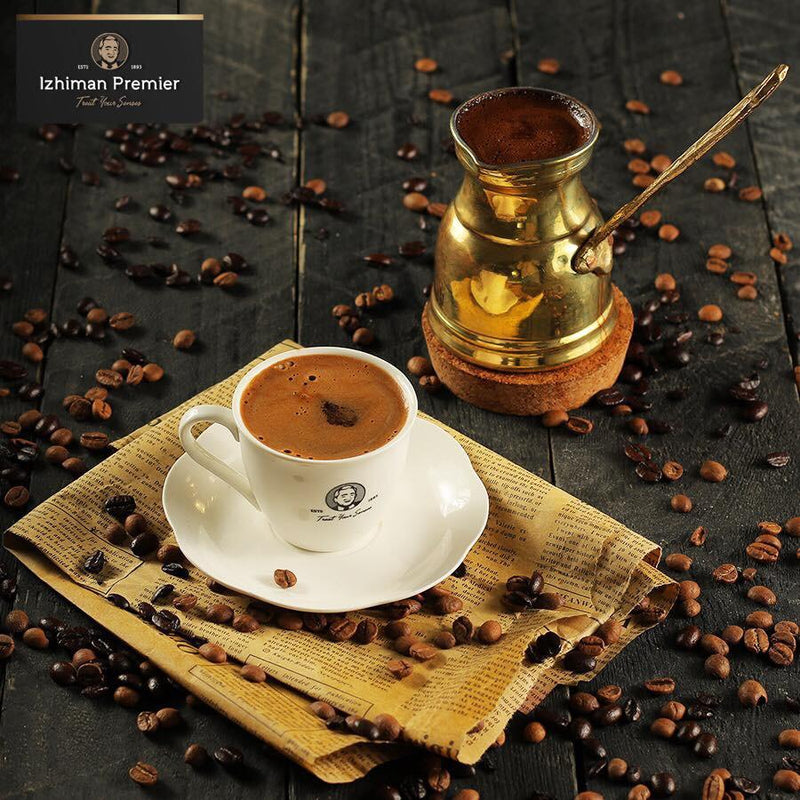 Turkish Coffee Light With Cardmom