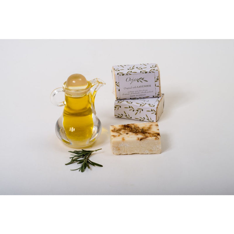 Lavender & Olive Oil Soap Bar 110g