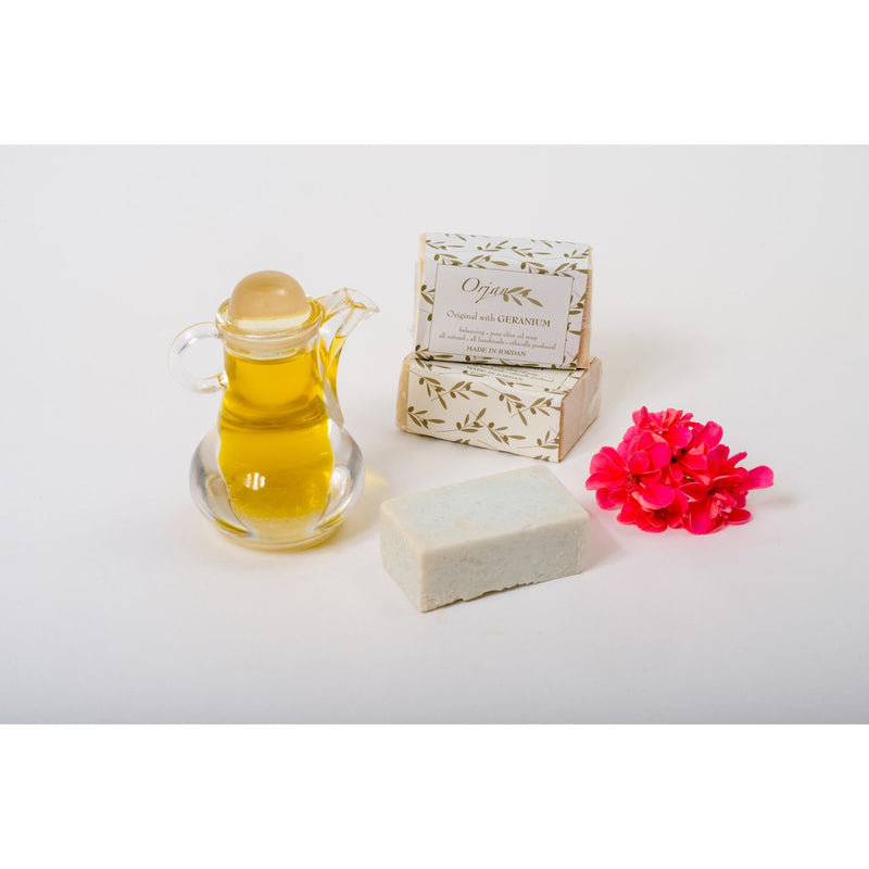 Geranium & Olive Oil Soap Bar 110g
