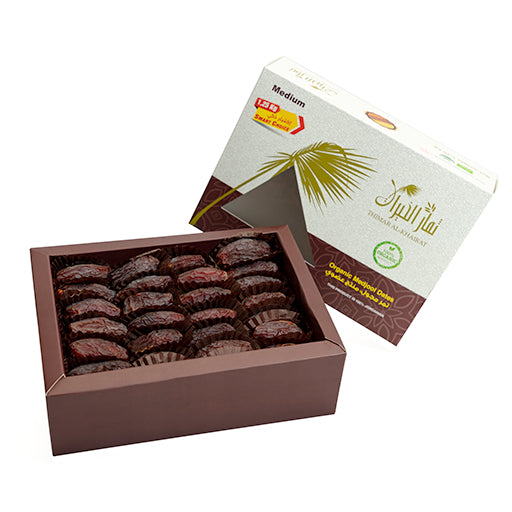 Organic Certified Medium Majhool dates - Premium
