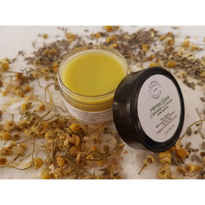 Chamomile & Lavender Herbal Salve