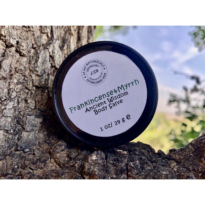 Frankincense & Myrrh Body Salve