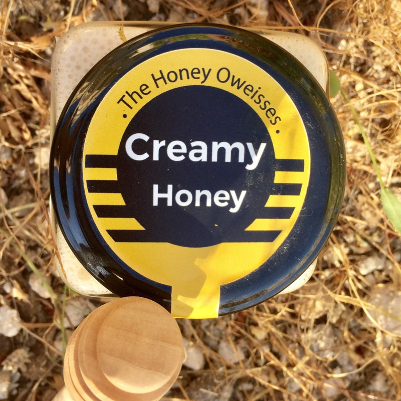Raw Creamy Honey 400g