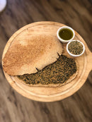 Whole Wheat Ka'ek with Za'atar