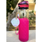 Pink Glass Bottle 450ml