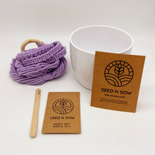 Load image into Gallery viewer, Seed n Sow Macrame Hanger Seed Kit