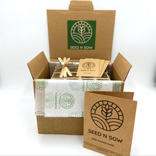 Load image into Gallery viewer, All In One Seed Kit - Organic Herbs, Fruit and Vegetables-Master-Seed n Sow