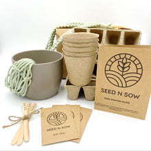 Load image into Gallery viewer, Seed n Sow Signature Seed Kit - Flowers and Indoor Plants-Master-Seed n Sow