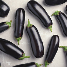 Load image into Gallery viewer, Organic Black Beauty Aubergine Vegetable Seeds - 55 Per Pack