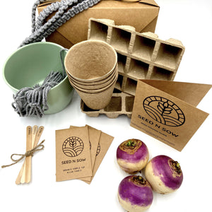 Seed n Sow Signature Seed Kit - Organic Herbs, Fruit and Vegetables-Master-Seed n Sow