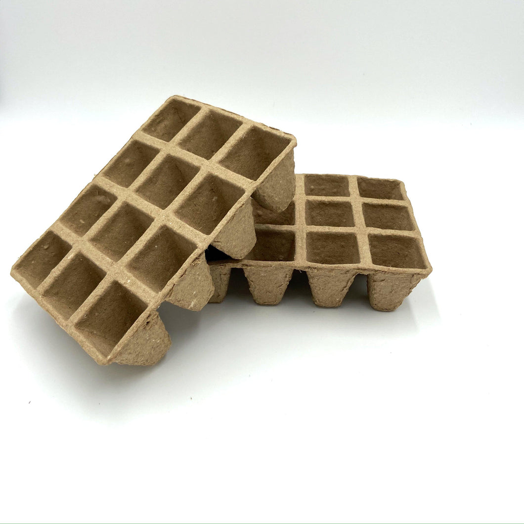 Two Biodegradable Seed Trays-Accessories-Seed n Sow