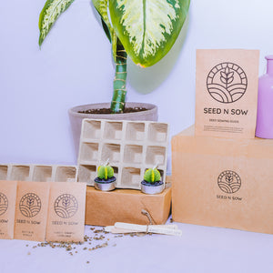 All In One Seed Kit - Organic Herbs, Fruit and Vegetables