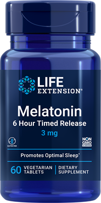 Melatonin 6 Hour Timed Release 60 Capsules