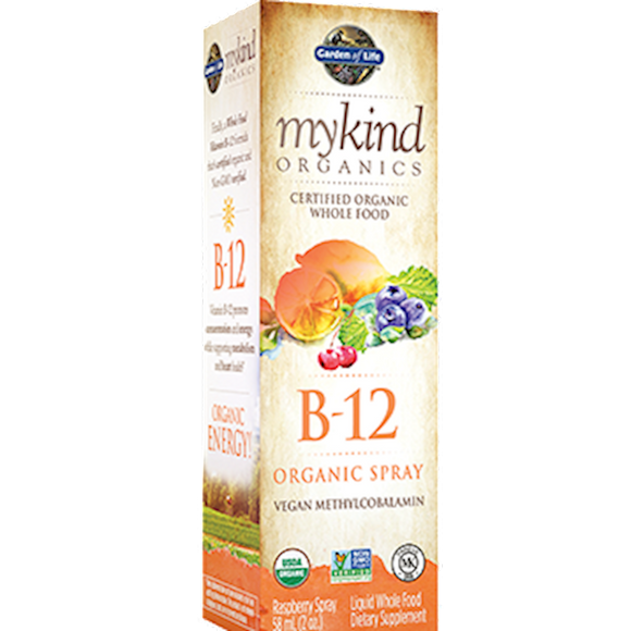 B-12 Spray Organic Vegan