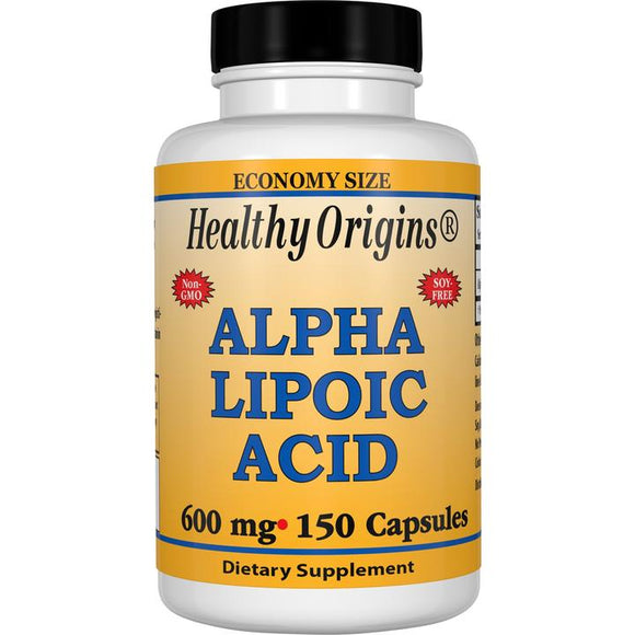Alpha Lipoic Acid 600 mg 150 Capsules