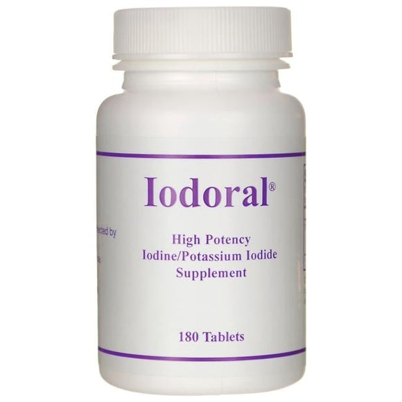Iodoral 12.5 mg 180 Tablets - Thyroid Support Supplement with Iodine