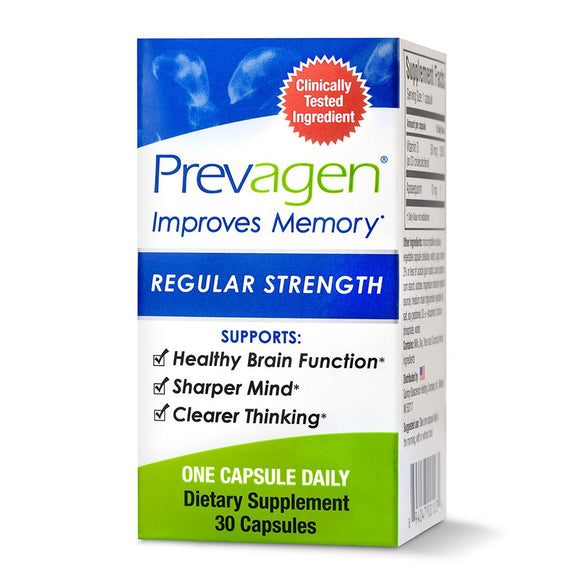 Prevagen Regular Strength 30 Capsules