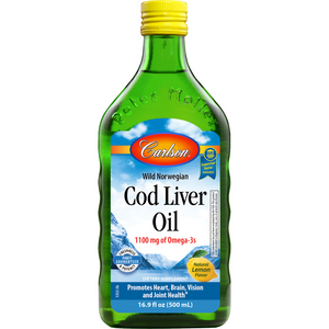 Cod Liver Oil Lemon