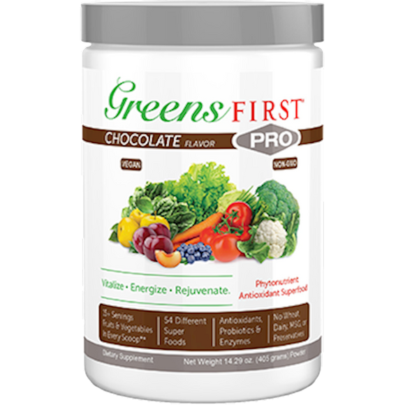 Greens First Chocolate PRO Powder - 30 Servings