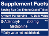 SAMe (S-Adenosyl-Methionine) 200mg