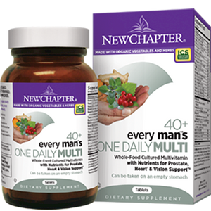 Every Man 40+ One Daily 96 Vegetarian Tablets