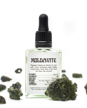 Load image into Gallery viewer, Moldavite Ritual Gem Essence